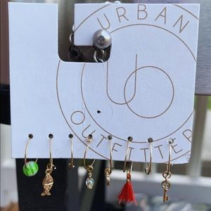 Urban Outfitters statement earrings.